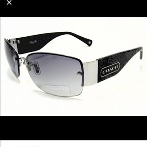 Authentic Coach Octavia Sunglasses Gunmetal